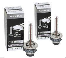 2x d2s xenon Brenner bulb 5500k +20% puissance audi a3 8p 8l a6 4b 4f a8 4e 4d tt