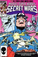MARVEL SUPER HEROES SECRET WARS #7 MARVEL 1984 KK