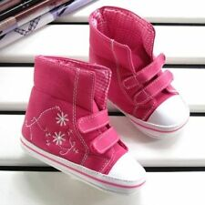 Girls Canvas Baby Trainers