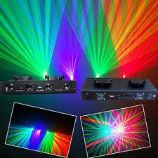4 Lens 250mW RGV DMX Laser Light Disco DJ Stage Party Lighting
