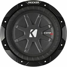 "KICKER 40CWRT81 CAR AUDIO 8"" 1 OHM COMPRT SHALLOW SUBWOOFER SUB WOOFER 40CWRT8-1"