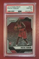 2016 Panini Prizm Pascal Siakam RC Rookie card No. 220 💎 Gem Mint PSA 10 💎