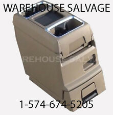 DODGE GRAND CARAVAN CHRYSLER TOWN & COUNTRY VAN CENTER CONSOLE DRINK TRAY BROWN