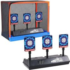 Electric Score Bullet Target Automatic Restore For NERF N-Strike Kids Shoot Toy