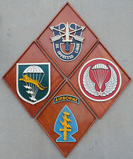 Four Vietnamese Made Special Forces / LLBD Plaques, Airborne