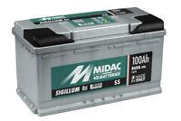 MIDAC SIGILLUM Starterbatterie S5 Plus 12V 100AH (High-DIN Version) EN (A):850