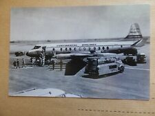CONTINENTAL AIRLINES   VISCOUNT   G-AMOC