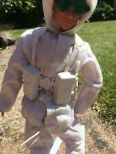 Vintage Action Man  Mountain & Arctic.Webbing with Water Bottle  Bayonet & Scab