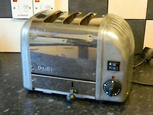 Dualit Combi 3 Slice Toaster - Stainless Steel and chrome