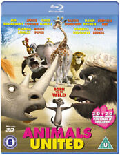 Animals United 3D+2D Blu-RAY NEW BLU-RAY (EBR5175)