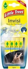 New Little Trees Invisi Vent Clip air Freshener Sport Scent Fragrance