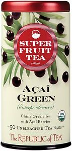 Acai Green Tea by The Republic of Tea, 50 tea bag