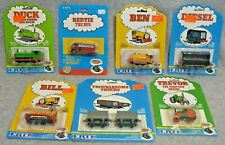 Seven (7) Thomas and Friends Items- Early Large Cloud packaging- New in Package!