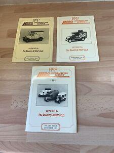 3 Lledo RDP Magazines