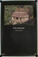 Affiche PALENQUE Chiapas / Mexico - Tourisme