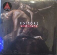EDITORS - Violence - GATEFOLD RED VINYL LP SEALED + SIGNED PRINT