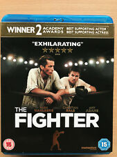 Christian Bale The Fighter 2010 Boxing Drama Classic UK Blu-ray w/ Slipcover