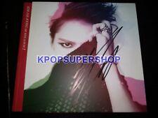 Kim Jae Joong JYJ 1st Mini Album I Autographed Signed Promotional CD Jejung TVXQ