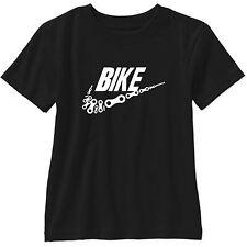 Bike Chain Links Swoosh Short Sleeve T Shirt Gildan Tee BMX Road Motorcycle
