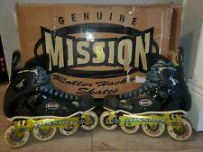 Vintage 1999 Mission Proto Vi Men's Rollerblades size 9