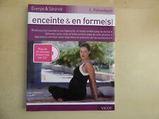 Maternité, bébé: ENCEINTE et en formes(s) avec CD, Fehrenbach, 2008, TBE
