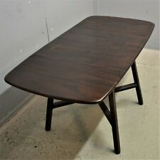 Vintage Ercol Drop Leaf Dining Table Elm Beech Delivery available