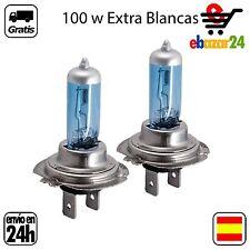 2 BOMBILLAS H7 12V 100W BOMBILLA LAMPARA HALOGENA EXTRA BLANCO *Envío GRATIS des