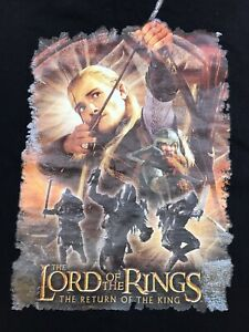 Vintage - The Lord of the Rings T Shirt The Return of the King age 9/10 years.