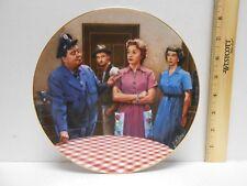 "1987 Hamilton Collection ""The Honeymooners"" Honeymooners Collector Plate Coa Box"
