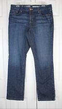 DKNY JEANS Women's Soho Classic Mid Rise Skinny Jeans Medium Blue Size 14 L/G