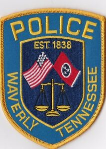 Waverly Police Tennessee TN patch