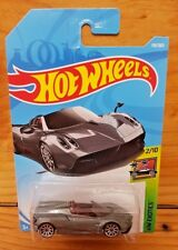 Hot Wheels 2018 HW EXOTICS 2/10 '17 PAGANI HUAYRA ROADSTER 119/365 GRAY (A+/A)