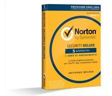 Software SYMANTEC - Antivirus Norton Security Deluxe 2016 1PC 1User5PC