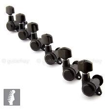 BRAND NEW - Schaller M6 Locking Tuning Key 6 in line Tuner Machine Head - BLACK