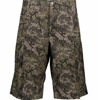 DOLCE & GABBANA Green Abstract Camouflage Shorts Size - Size 28