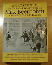 A Catalogue of the Caricatures of Max Beerbohm by Rupert Hart-Davis 1972 HC DJ