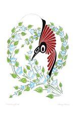 Hummingbird Danny Dennis Art Card Tsimshian Northwest Coast Native