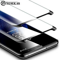 For Galaxy Note 8 S9 S8 Tempered Glass Screen Protector Anti-Fingerprint TY