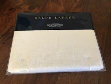 Ralph Lauren BLACK PALMS Warm White STANDARD SHAM Cove NWT Linen Cotton Blend