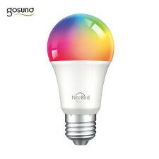 LED WiFi Lampe Glühbirne RGB Gosund WB4 NiteBird WLAN E27 Alexa Google Home App