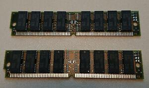 Vintage 8MB Kit (2x 4Mb) SEC (Samsung) RAM/Memory 72 pin Fast 60nS Non-EDO