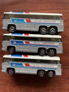Tomica vintage Greyhound Bus  F49 1979 Tomy  1/156 Made In Japan