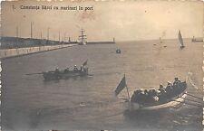 B25543 Constanta Barci cu Marinari in port  ship bateaux   romania