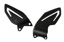 (13-15) Triumph Daytona 675 / 675R Heel Guard Plate Sheild Carbon Fiber Fibre