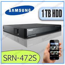 Samsung srn-472s 4CH DVR réseau IP NVR PoE Switch 1 to cctv enregistreur vidéo hd