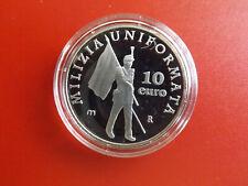 *San Marino 10 Euro 2005 Silber PP * Uniformierte Miliz (KOF.8)