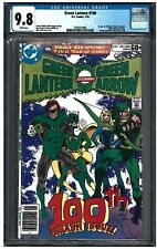 GREEN LANTERN #100 CGC 9.8 (1/78) DC white pages