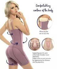 Siluet® Postpartum High Compression Mid-Thigh Full Body Shaper.