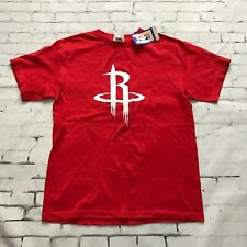082336259 Majestic Jeremy Lin Houston Rockets Red White Number 7 T-Shirt Youth Large  NWT