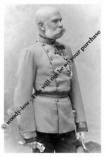 "mm789 - Emperor Franz Joseph of Austria Hungary  - Royalty photo 6x4"""